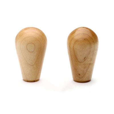 Wood Knobs in maple, set of 2 from Clive Coffee - Product Image