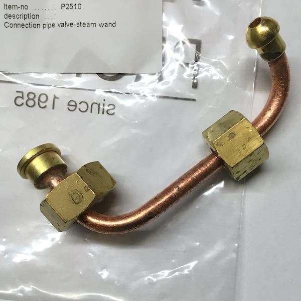 Pro 300 Steam Wand Copper Connection Pipe