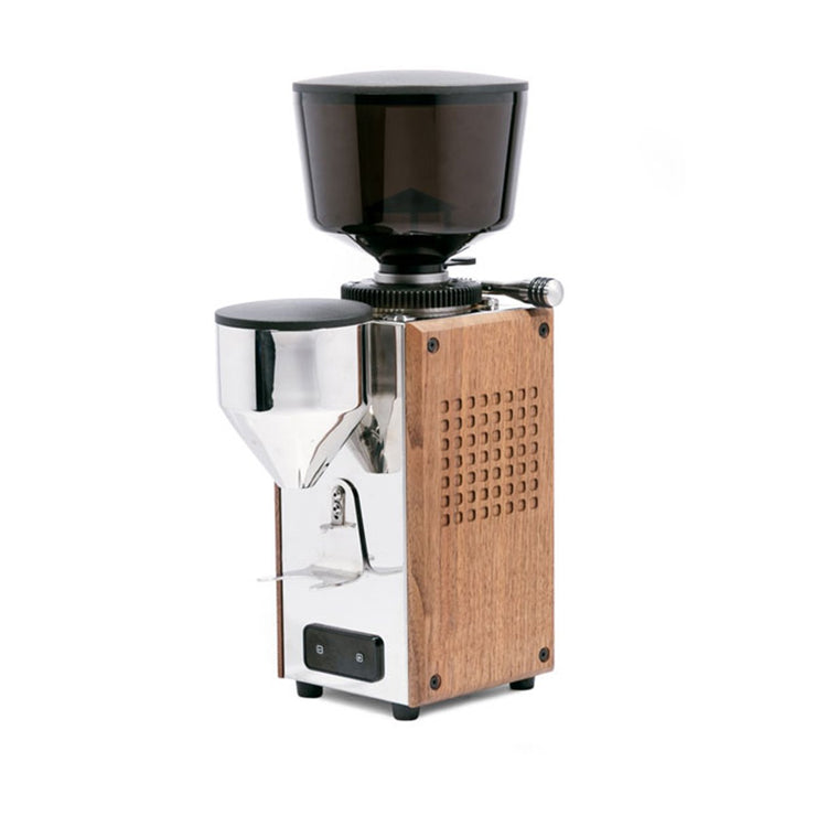 Profitec T64 Espresso Grinder Wood Panels from Clive Coffee - Product Image
