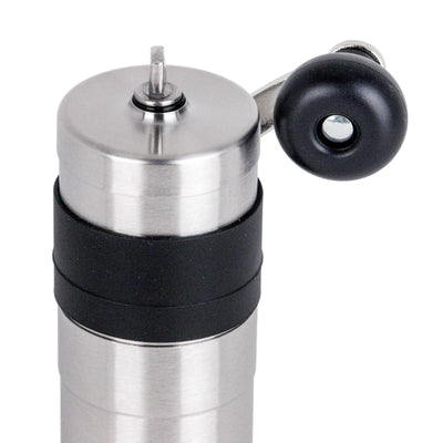 Porlex Mini Stainless Steel Coffee Grinder handle from Clive Coffee - Product Image