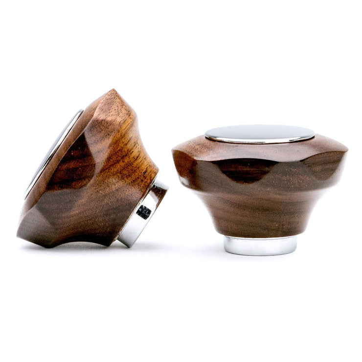Clive Coffee Wood Knobs for Profitec espresso machines - Knockout