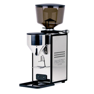 Profitec T64 Espresso Grinder stainless steel from Clive Coffee - Product Image