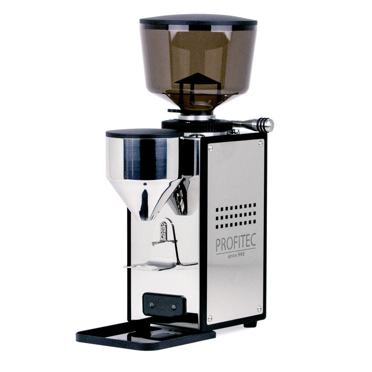 Profitec T64 Espresso Grinder stainless steel, Clive Coffee - Knockout