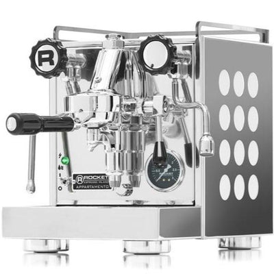 Rocket Appartamento Espresso Machine white by Clive Coffee - Product Image