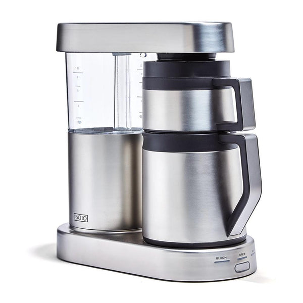 Ratio Six Coffee Maker in Stainless Steel, Clive Coffee - Knockout