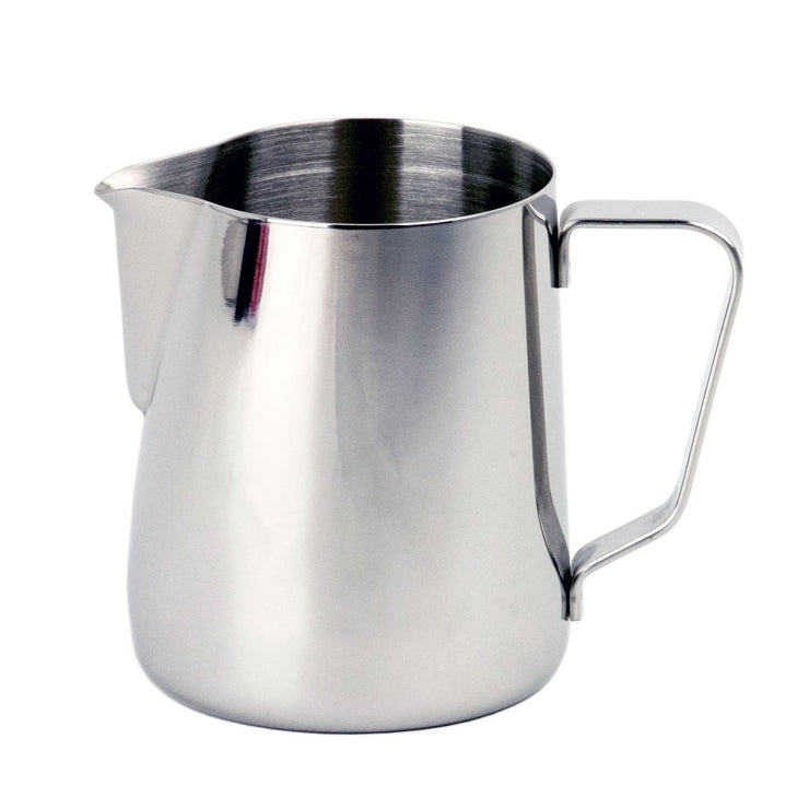 Rhino Classic milk frothing pitcher for milk steaming, Clive Coffee - knockout