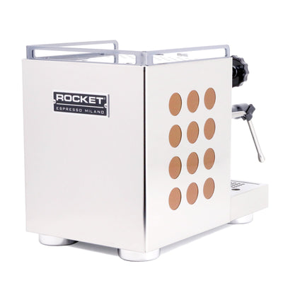Rocket Appartamento Espresso Machine copper back by Clive Coffee - Product Image