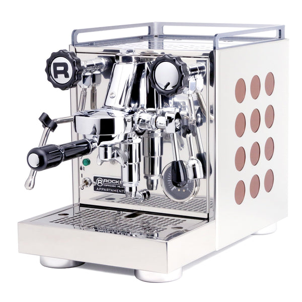 Rocket Appartamento Espresso Machine in copper, Clive Coffee - Knockout