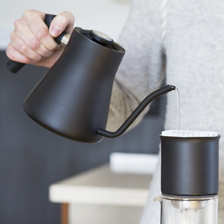 Fellow Stagg Pour Over Kettle black w/ [XF] from Clive Coffee - Package Image