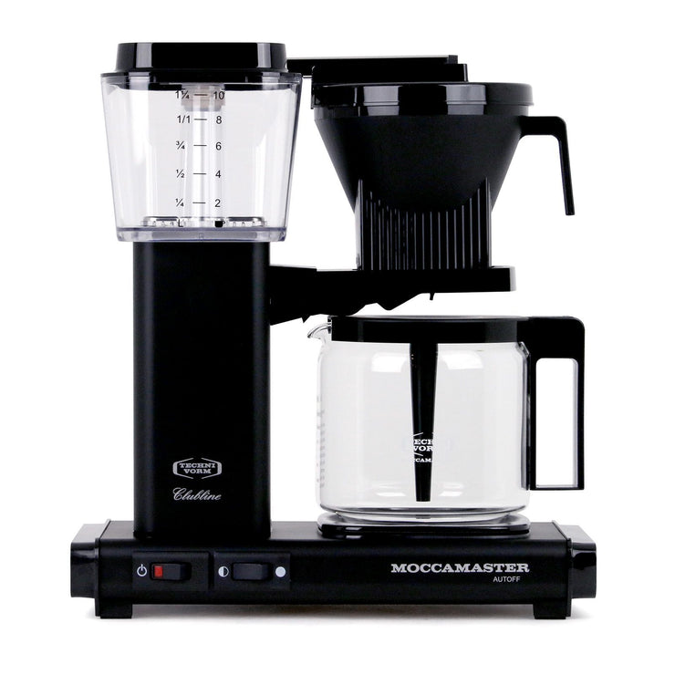 Technivorm Moccamaster KBG Coffee Maker in black, Clive Coffee - Knockout