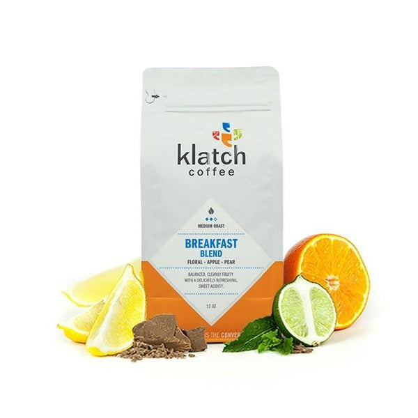 Klatch Coffee's Breakfast Blend, Clive Coffee - Knockout