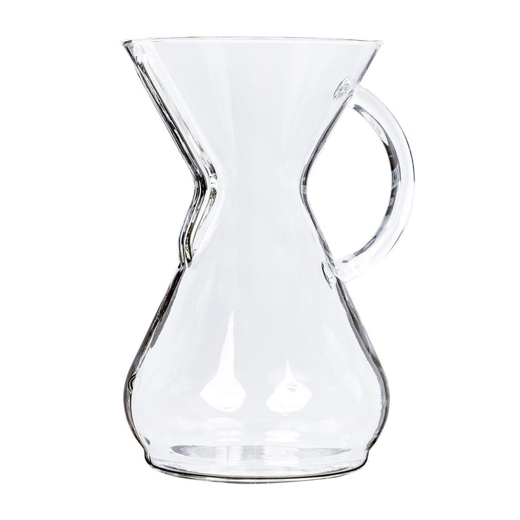 Chemex Eight Cup Glass Handle Coffee Maker, Clive Coffee - Knockout