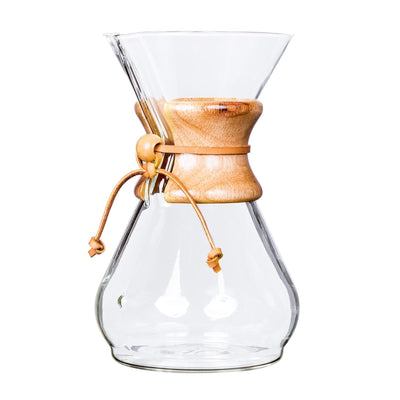 Chemex Traditional Eight Cup Coffee Maker from Clive Coffee - Product Image
