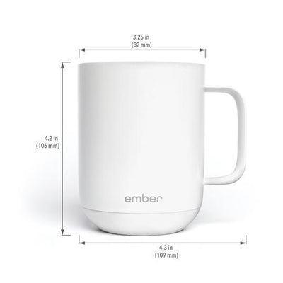 Ember Ceramic Mug dimensions from Clive Coffee - Product Image