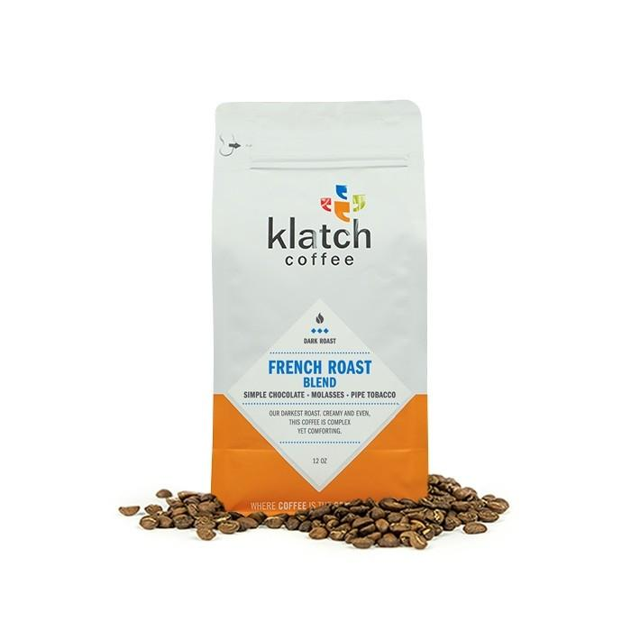 Klatch Coffee's French Roast blend, Clive Coffee - Knockout