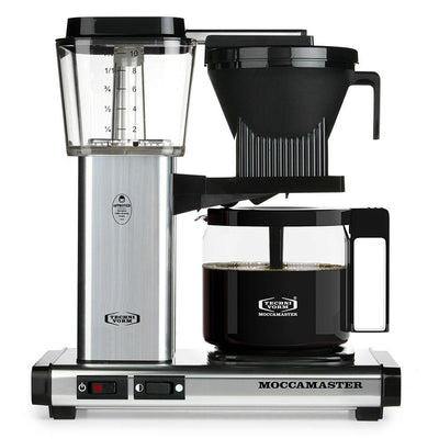 Technivorm Moccamaster KBG Silver Brewer from Clive Coffee - Product Image
