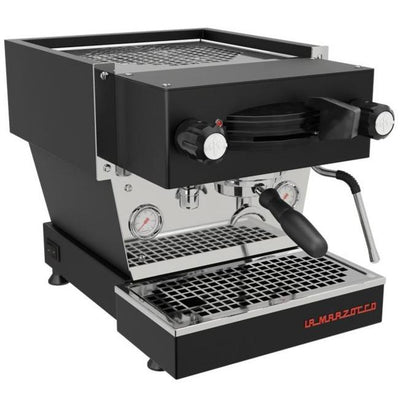 La Marzocco Linea Mini Espresso Machine in black from Clive Coffee - Product Image