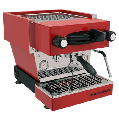 La Marzocco Linea Mini Espresso Machine in red from Clive Coffee - Product Image