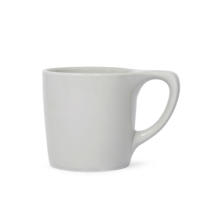 notNeutral LINO Coffee Mug, Light Gray - Knockout