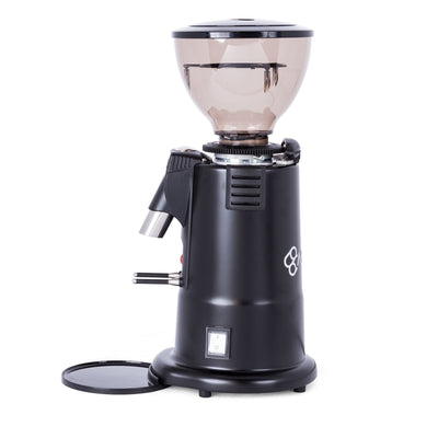 MACAP M4D Digital Doserless Espresso Grinder black side by Clive Coffee - Product Image