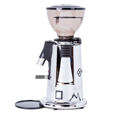 MACAP M4D Digital Doserless Espresso Grinder chrome by Clive Coffee - Product Image