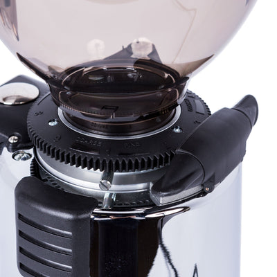 MACAP M4D Digital Doserless Espresso Grinder grind settings by Clive Coffee - Product Image