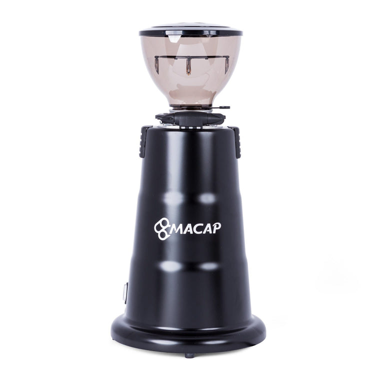 Macap M7D Conical Doserless Espresso Grinder black back short hopper by Clive Coffee - Product Image