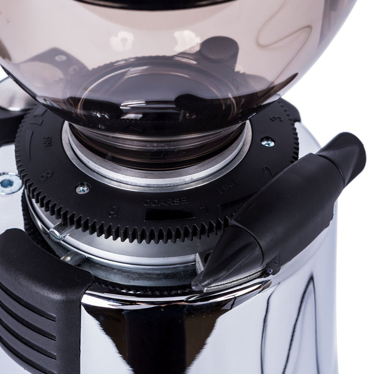 Macap M7D Conical Doserless Espresso Grinder grind settings by Clive Coffee - Product Image