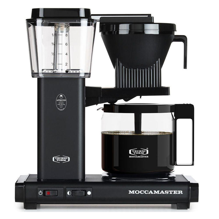 Technivorm Moccamaster KBG Matte Black Brewer from Clive Coffee - Product Image