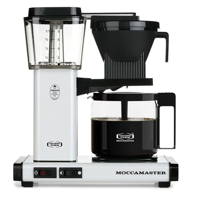 Technivorm Moccamaster KBG White Brewer from Clive Coffee - Product Image