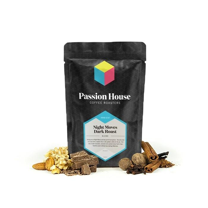 Passion House coffee roaster's Night Moves blend, Clive Coffee - Knockout