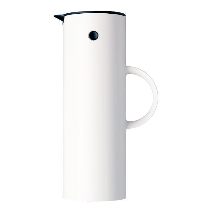 Stelton Vacuum Jug, white, Clive Coffee - Knockout