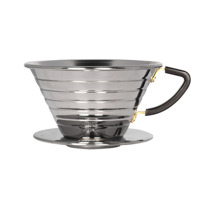 Kalita Wave Stainless Steel Dripper from Clive Coffee - Product Image