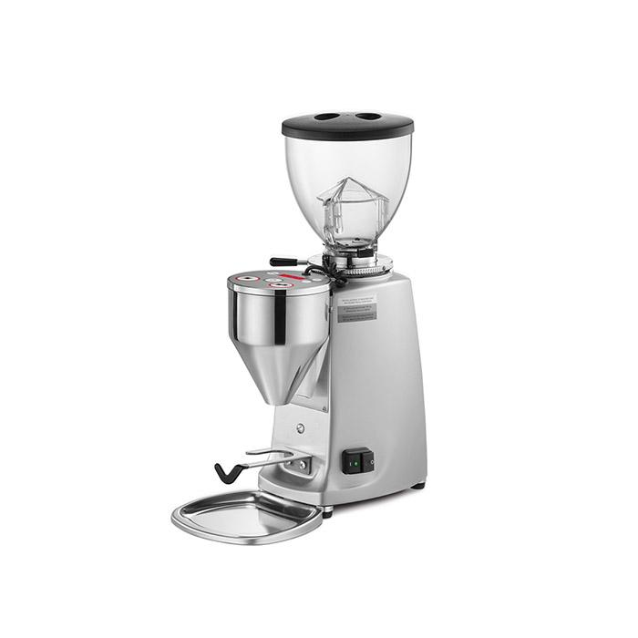 Mazzer Mini Doserless Type A Espresso Grinder polished aluminum by Clive Coffee - Product Image