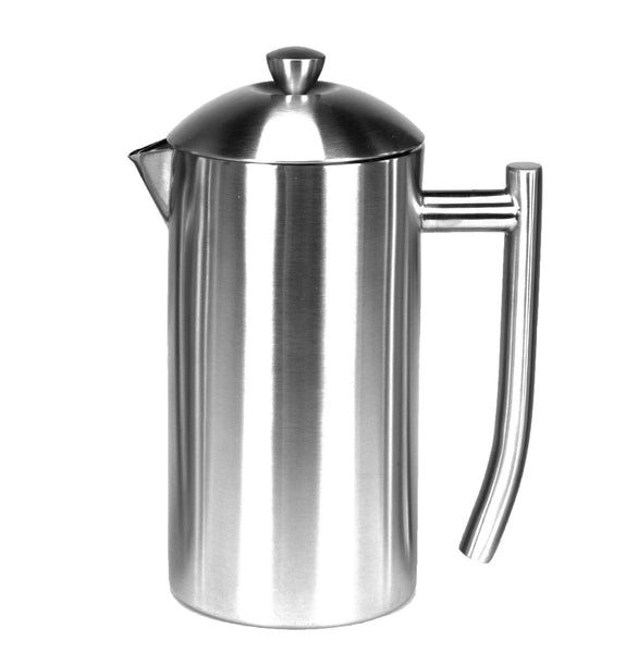Frieling Insulated stainless steel French Press, 36 oz, Clive Coffee - Knockout