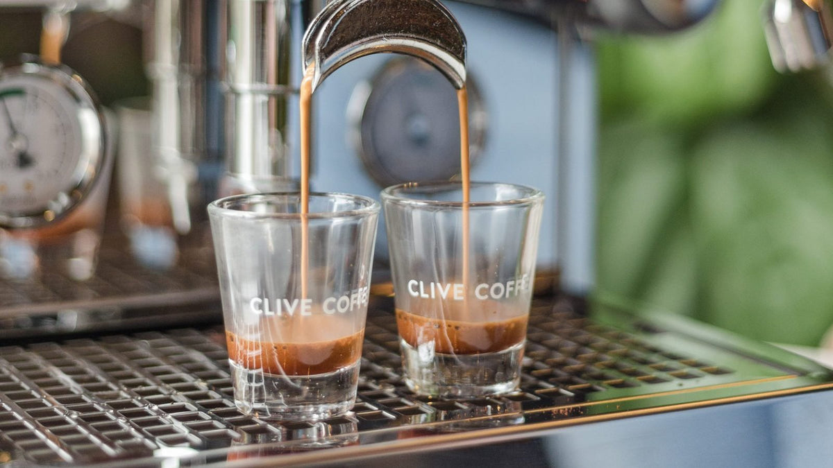 Clive Coffee Clive Espresso Shot Glass (Set of 2) - Lifestyle