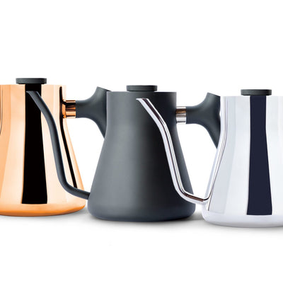 Fellow Stagg Pour Over Kettle lineup from Clive Coffee - Product Image