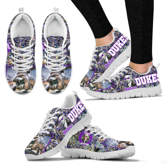 JMU Duke Dog Sneakers