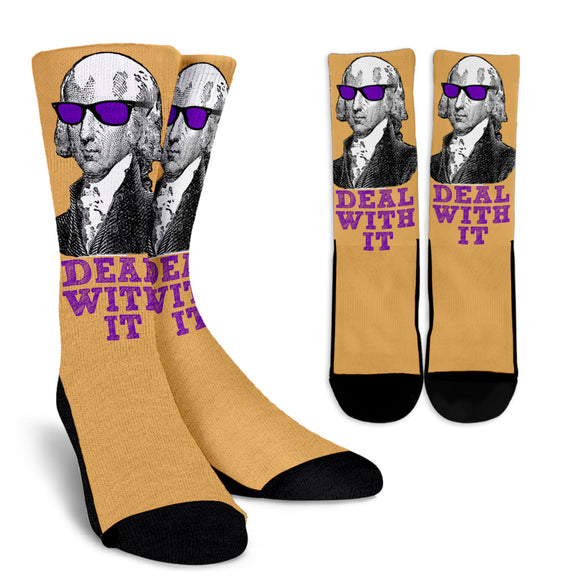 DEAL WITH IT SOCKS - James Madison
