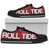 Alabama Roll Tide Low Tops
