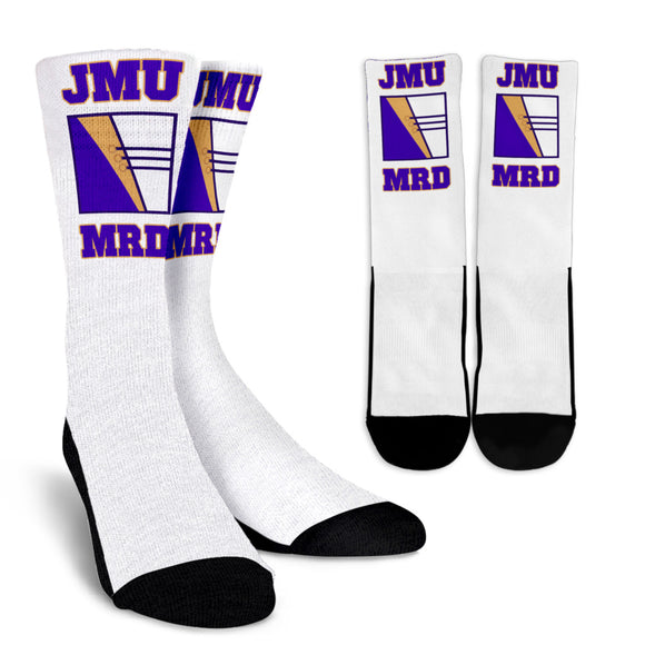 JMU MRD White Socks