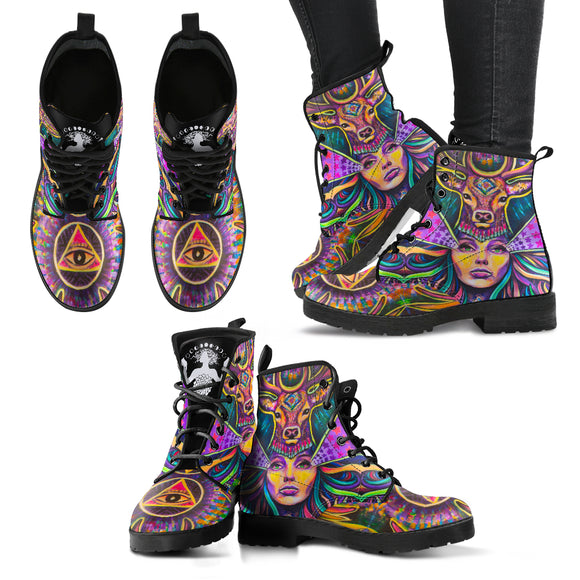 Lady Deer - Women's Leather Boots