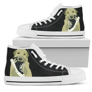 Labrador Print Women's High Tops