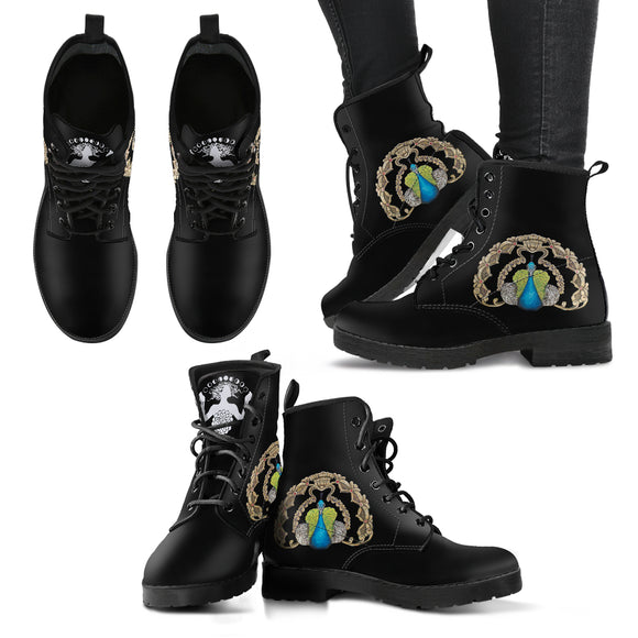 The Peacock - Women's Leather Boots
