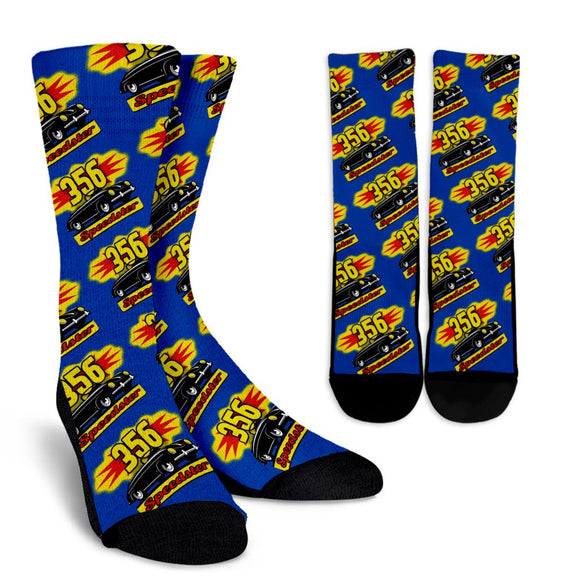356 Speedster Porsche Socks 2