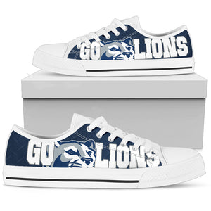 Go Lions Low Top Shoes