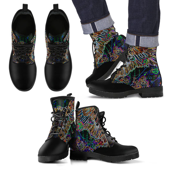 Electric Rebel - Men's Leather Boots