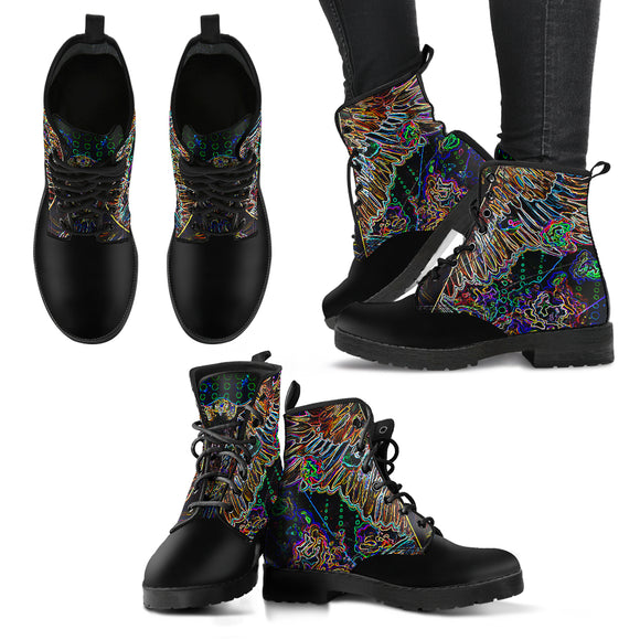 Electric Rebel - Women's Leather Boots