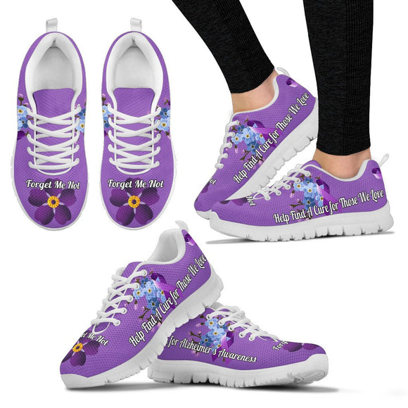 Forget Me Not ALZ Sneakers