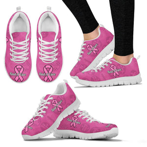 Breast Cancer Find A Cure Pink Shoes